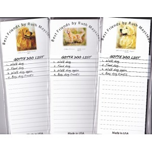 Golden Retriever Listpads