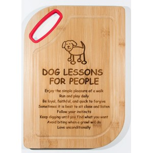 Cutting Board - Dog Lessons