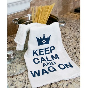 Kitchen Towel - Keep Calm & Wag On